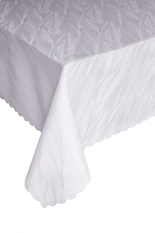 Damask Living Room Decor: NEW Damask Jacquard Tablecloth Marble Design Oblong Table
